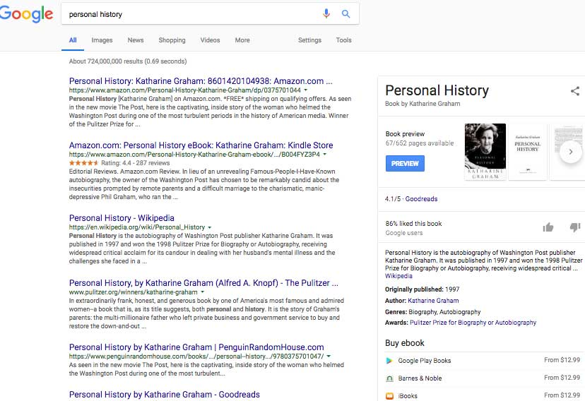 When you google personal history, you might not be getting personal historians or memoir writers