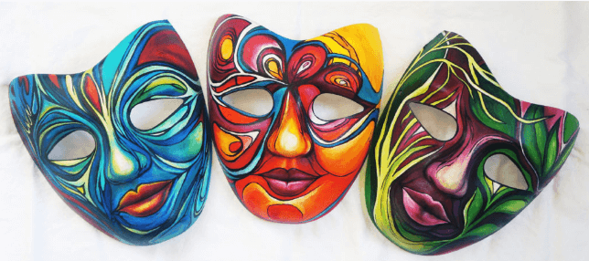 Lisa Kagan masks